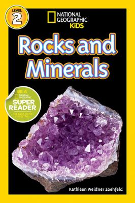 Cover image for Rocks and minerals!