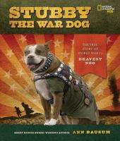 Cover art for Stubby the War Dog
