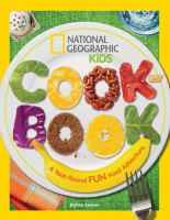 Cover art for National Geographic Kids Cook Book