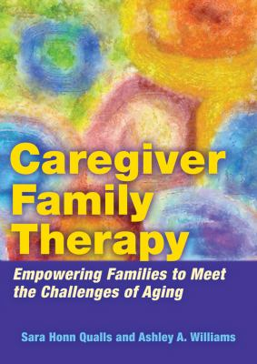 Book jacket for Caregiver Family Therapy