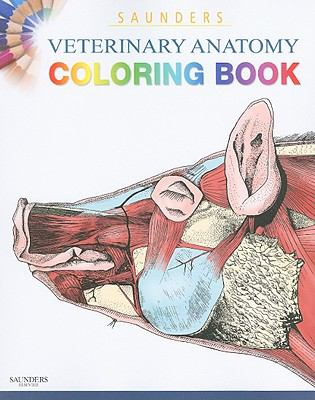 Saunders veterinary anatomy coloring book