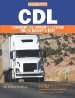 Barron's Cdl Commercial Driver's License Truck Driver's Test by  © 2016 (Added: 8/18/16)
