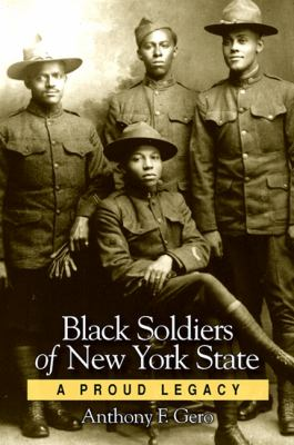 Cover image for Black soldiers of New York state 