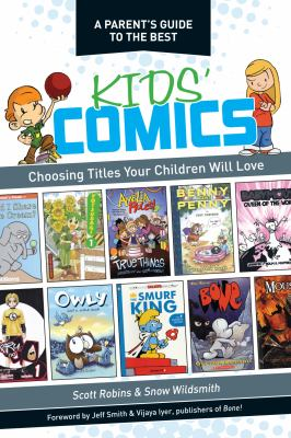Cover image of a Parent's Guide to the Best Kid's Comics