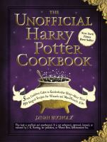 Cover art for The Unofficial Harry Potter Cookbook