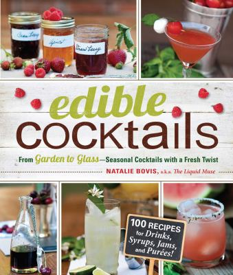 Cover image for Edible cocktails 