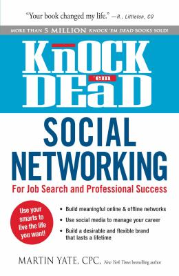 cover of Knock'em Dead Social Networking: for Job Search and Professional Success