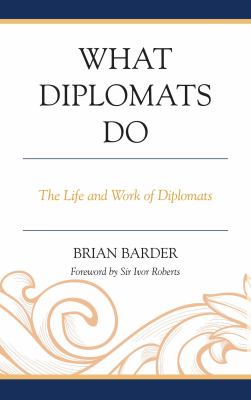 What Diplomats Do book cover