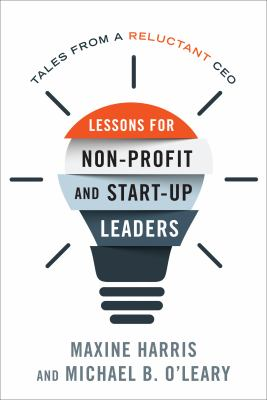 Book cover: Lessons for Non-Profit and Start-up Leaders