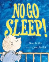 NO GO SLEEP! book cover
