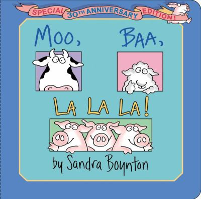Cover image for Moo, baa, la la la!