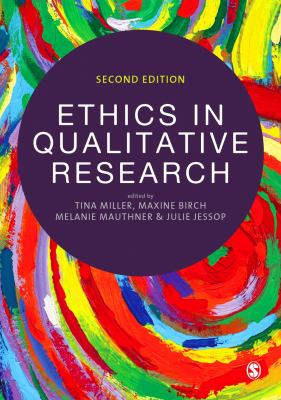 Book jacket for Ethics in Qualitative Research