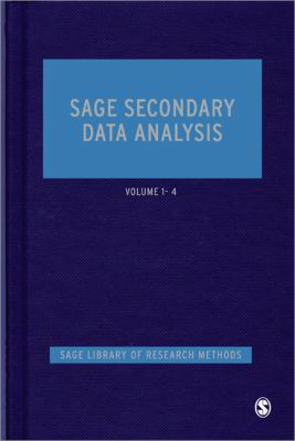 Book jacket for SAGE Secondary Data Analysis