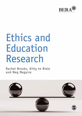 Book jacket for Ethics and Education Research