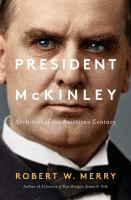 Cover art for President McKinley