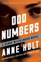 Cover art for Odd Numbers