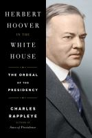 Cover art for Herbert Hoover in the White House