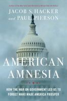 Cover art for American Amnesia