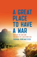 Cover art for A Great Place to Have a War