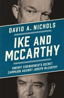 Cover art for Ike and McCarthy