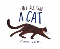 Cover art for They All Saw A Cat