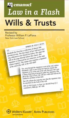 Wills and Trusts - Flash Cards Box