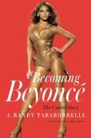 Cover of Becoming Beyonce