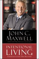 Cover of Intentional Living