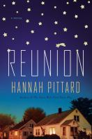 Cover art for Reunion by Hannah Pittard