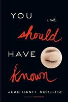 Cover art for You Should Have Known
