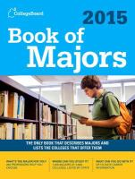 2015 book of majors