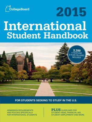 cover of International Student Handbook 2015