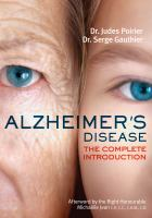 Alzheimer's Disease : The Complete Introduction by Poirier, Judes © 2011 (Added: 3/3/15)