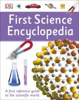 Book cover of the First Science Encyclopedia
