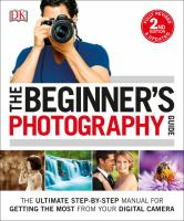 The Beginner's Photography Guide by Gatcum, Chris © 2016 (Added: 7/13/16)