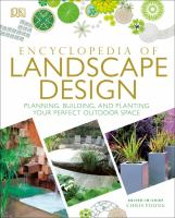 Encyclopedia Of Landscape Design by Young, Chris © 2017 (Added: 1/16/18)