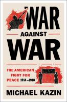 Cover art for War Against War