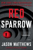 Cover art for Red Sparrow