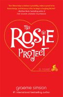 Cover art for The Rosie Project