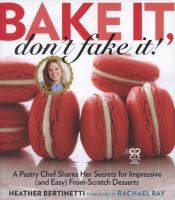 Cover art for Bake It, Don't Fake It