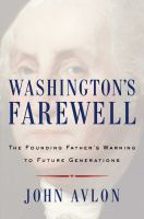 Cover art for Washington's Farewell