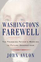 Cover art for Washington's Farewell