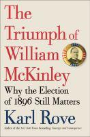 Cover art for The Triumph of William McKinley