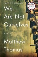 Book cover: We Are Not Ourselves