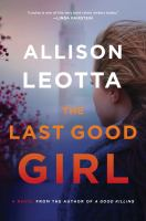 Cover art for The Last Good Girl