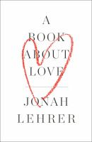 Cover art for A Book About Love
