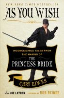 Cover of As You Wish by Cary Elwes