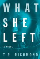 Cover art for What She Left