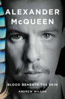 Book cover of Alexander McQueen: Blood Beneath the Skin