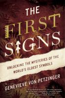 Cover art for The First Signs